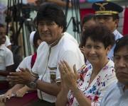 Evo Morales Ayma, presidente del Estado Plurinacional de Bolivia y Ena Elsa Velázquez, Ministra de Educación. Foto: Ladyrene Pérez/ Cubadebate.