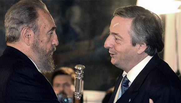 Fidel y Néstor