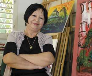 Flora Fong. Foto: Darío Leyva.