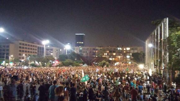 Israel protesta