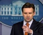 Josh Earnest, el vocero de la Casa Blanca