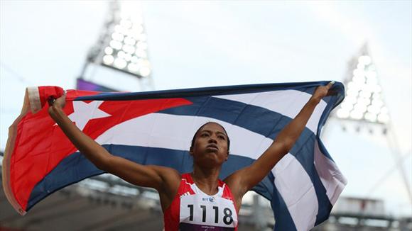 Cubana Omara Durand ganó su segundo oro paralímpico en Río 2016