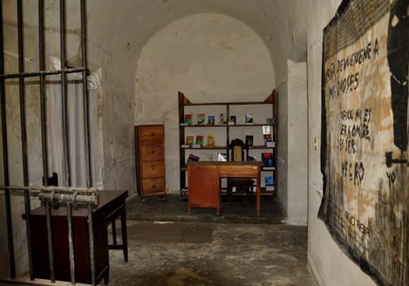 Área de la cárcel. Foto: Roberto Garaicoa