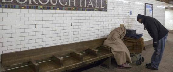 Sin techo en Nueva York
