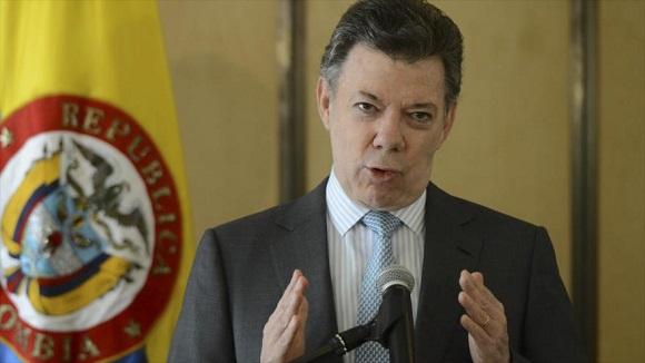 Presidente colombiano Juan Manuel Santos