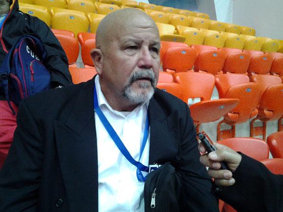 Rafael Manso, presidente de la Federación Cubana de Judo. Foto: Joel García.
