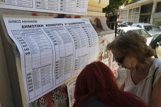 Referendum en Grecia, 2015.