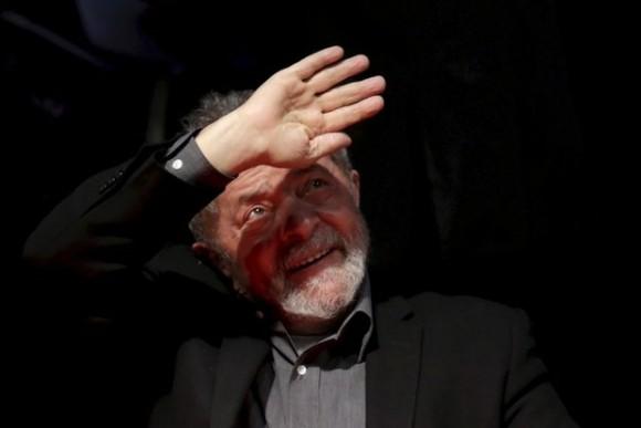 """""""Si fuese necesario, voy a la disputa y voy a trabajar para que la oposición no gane las elecciones"""", afirmó el ex presidente de Brasil, Luiz Inacio Lula da Silva. Foto: Reuters"""