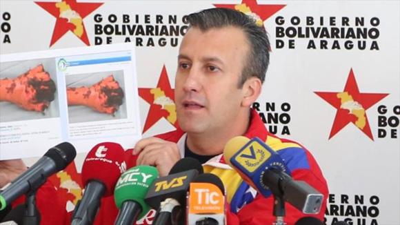 Tareck El Aissami. Foto: Tomada de radiomacondo.fm