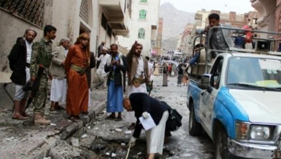 Al menos 30 personas fallecieron tras el ataque. | Foto: AFP.