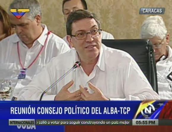 Bruno Rodríguez. Foto tomada de VTV