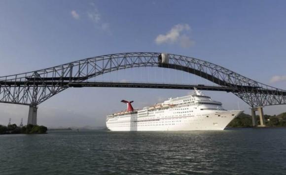 Canal de Panamá. Foto Reuters.