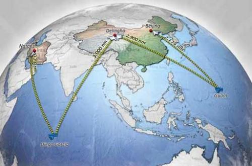 china bombardero de eeuu