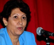 Ena Elsa Velázquez Cobiella, ministra de Educación,Foto: ACN/ Archivo.