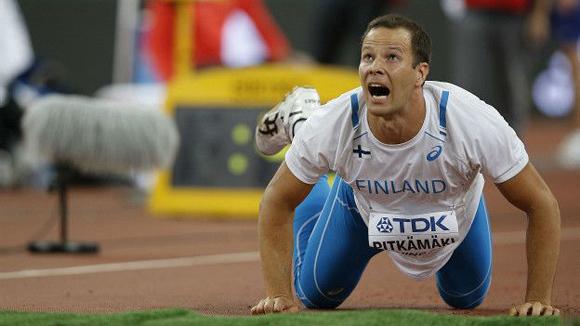 Tero Pitkämäki. Foto: AFP