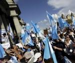 guatemaltecos protestas