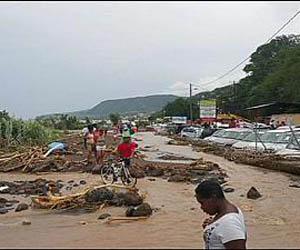 Cuatro muertos en Haití al paso de tormenta tropical Erika