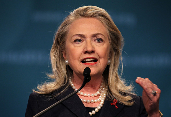 Hillary Clinton. Foto: Alex Wong / Getty Images.