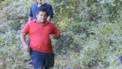 Jiménez, policía comunitario que iba a investigar el caso de los 43 estudiantes desaparecidos en Iguala, México, fue encontrado muerto la noche del sábado último. Foto: Tomada d BBC Mundo.