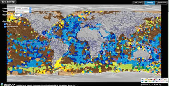 Los océanos cubren 71% de la Tierra.