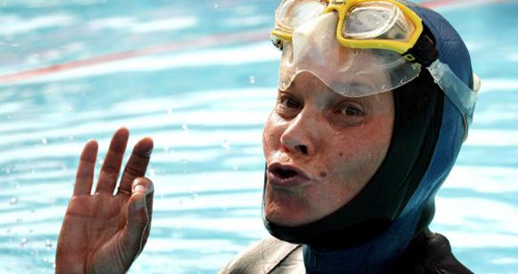 Natalia Molchanova en una fotografía de 2005. Foto: Fabrice Coffrini / EFE.