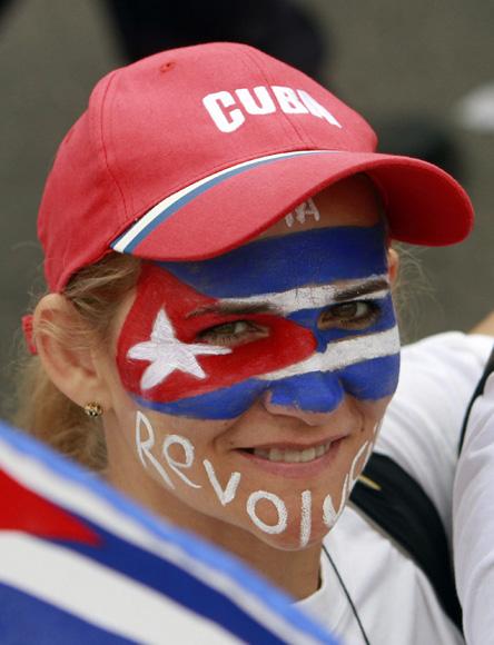 Desfile por el Primero de Mayo en La Habana. Foto: Ismael Francisco/ Cubadebate