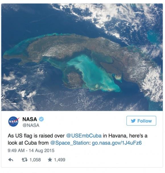 Como la bandera de Estados Unidos se eleva sobre la Embajada de EEUU en La Habana, he aquí una mirada a Cuba desde