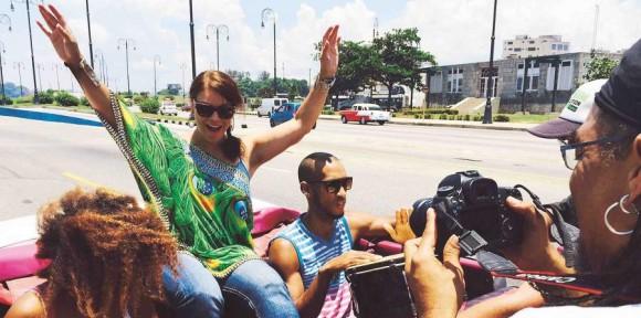 """Olga Tañón: """"Tengo pensado regresar a Cuba a hacer un concierto grande"""""""