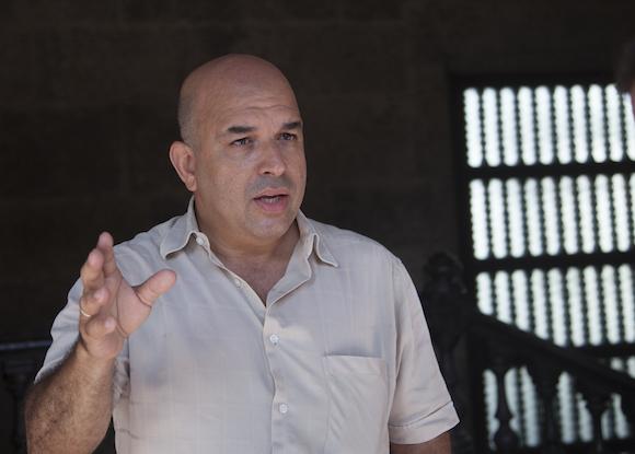 """Orlando Márquez, director de la revista """"Palabra Nueva"""" de la arquidiócesis de La Habana. Foto: Ismael Francisco/ Cubadebate"""