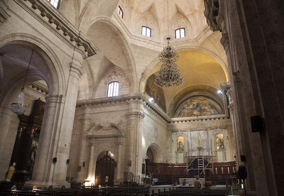 Presbiterio de la Catedral de La Habana