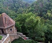 Parte del Castillo Ksiaz bajo el cual se encuentra supuestamente el tren dorado Nazi