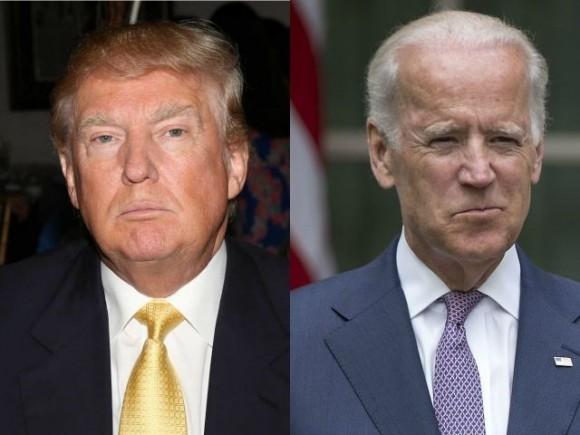 Trump y Biden. Foto: AP