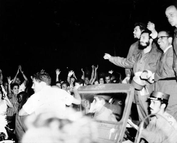 Llega a Cuba el Comandante Fidel Castro junto a la delegación que lo acompañó en el XV periodo de Sesiones de la Asamblea General de la ONU, en Nueva York. Foto: Archivo