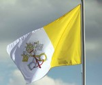 Bandera del Vaticano. (Foto: Getty Images.)