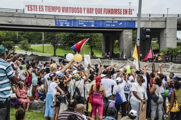 Bienvenido el Papa La Habana fotos Kaloian-11