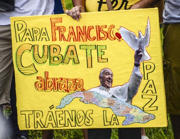 Bienvenido el Papa La Habana fotos Kaloian-13