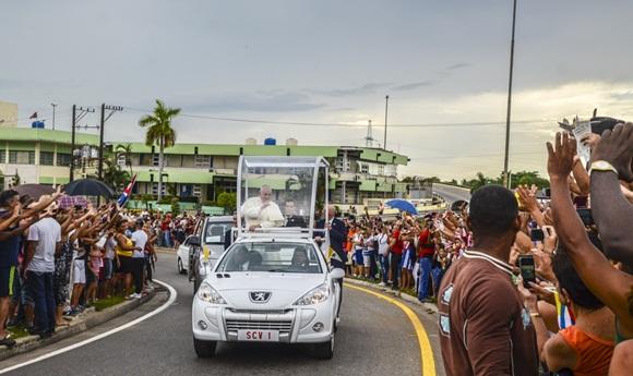 Bienvenido el Papa La Habana fotos Kaloian-14