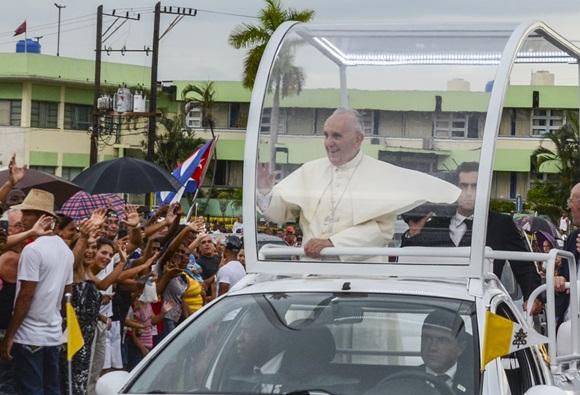 Bienvenido el Papa La Habana fotos Kaloian-17