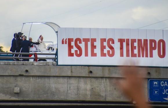 Bienvenido el Papa La Habana fotos Kaloian-19