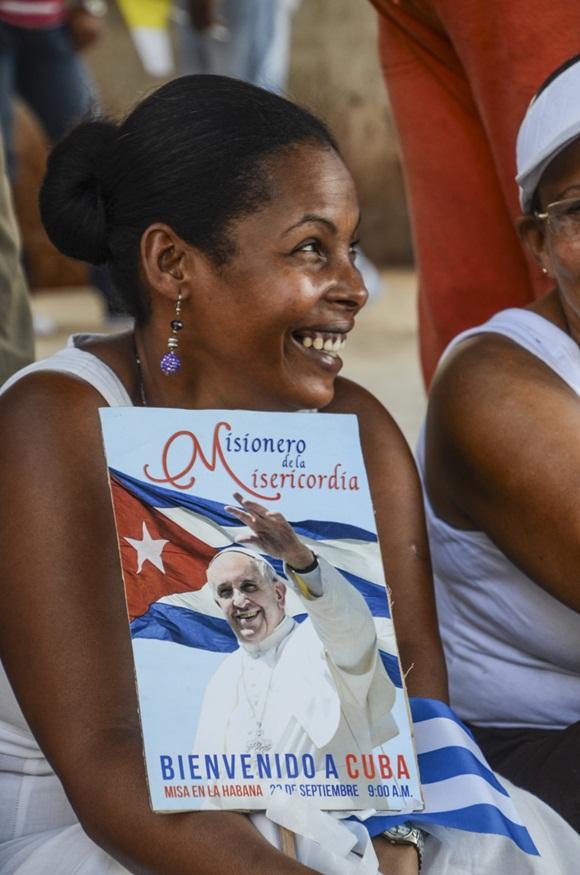 Bienvenido el Papa La Habana fotos Kaloian-4