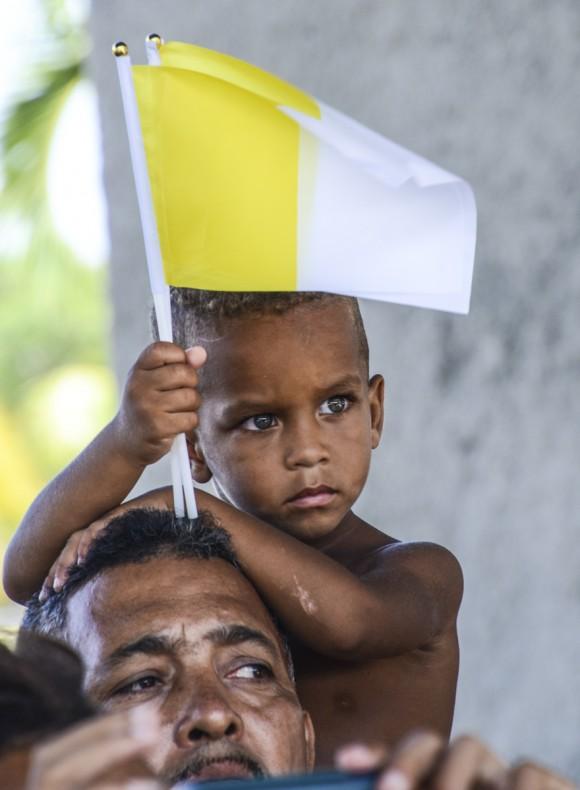 Bienvenido el Papa La Habana fotos Kaloian-5