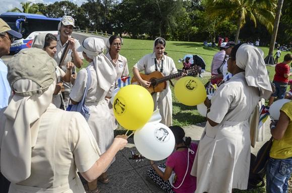Bienvenido el Papa La Habana fotos Kaloian-7