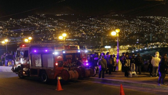 Chile en vigilia por terremoto y tsunami (+ Video)