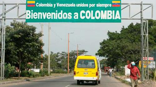Frontera colombo venezolana. Foto: Tomada de www.el-nacional.com
