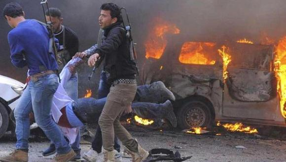 Coches bomba Siria