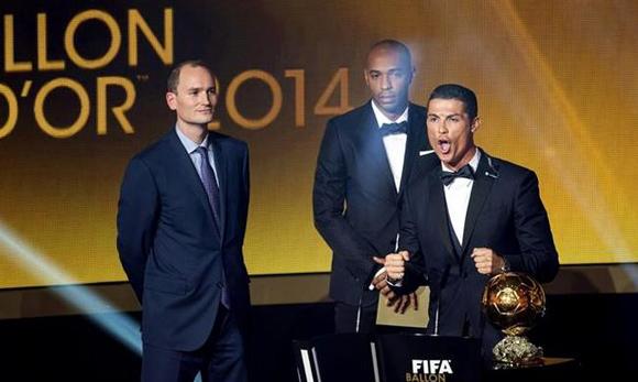Cristiano Ronaldo fue el último ganador del FIFA Balón de Oro. Foto: EFE