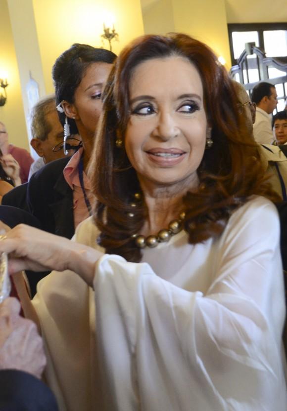 Cristina Fernández en el Hotel Nacional de Cuba, 20 de septiembre de 2015. Foto: Kaloian Santos Cabrera / Cubadebate