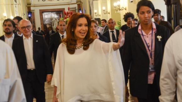 Cristina en el Hotel Nacional 580