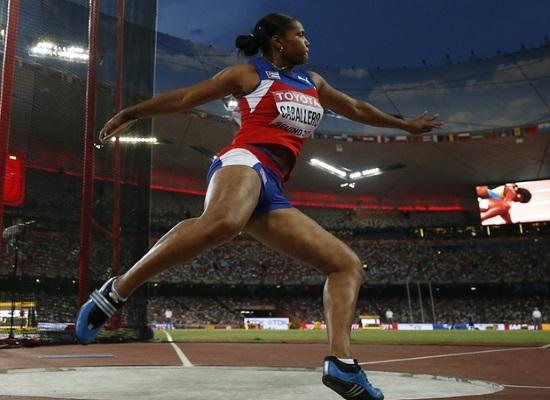 Denia Caballero fue una de las dos medallistas de oro en el pasado Mundial de Beijing.
