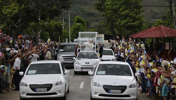 El Cobre acoge con admiración y respeto al Papa Francisco